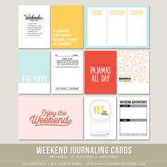 This set of ten digital journaling cards is perfect for pocket page protectors, scrapbooking and mini-books. Included in this set are…