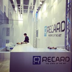 Stand Recard, 2015 | Project Domenico Raimondi @thesignlab, Project management, marketing MViva, Manufactures Allestand