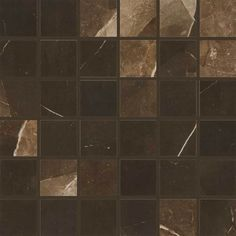 Daltile Marble Attache - x Square Mosaic Multi-Surface Tile - U (Travertine) Flooring Store, Best Flooring, Installing Tile Floor, Floor Outlets, Natural Stone Flooring, Mosaic Wall Tiles, Stone Tiles, Porcelain Tile, Marble