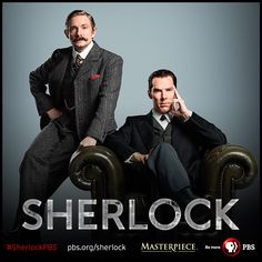 Sherlock & John go the full Victorian.   A new photo from the Sherlock special - coming soon to MASTERPIECE on PBS! More tomorrow at our Comic-Con panel, stay tuned.