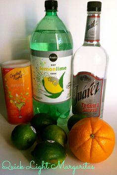 In honor of National Margarita Day…Light Margaritas! #margarita #light #recipe