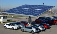 Envision Plans to Install 2,300 Rotating Solar Tree Car Shelters in South Carolina