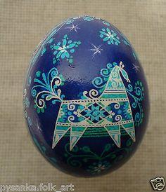 Ukrainian Pysanka by Oleh K Chicken Easter Egg Pysanky | eBay