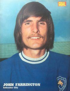 John Farrington of Leicester City in Leicester City Football, Leicester City Fc, World History, Foxes, 1960s, Goal, Soccer, Club, Futbol
