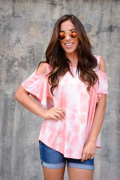 Coral Reef Top – Eleven Lilies Boutique