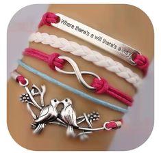I like the infinity bracelet