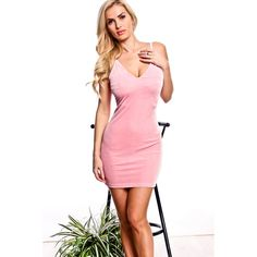 Pink spaghetti straps sleeveless pencil look velvet dress ($15) ❤ liked on Polyvore featuring dresses, pink, pink sleeveless dress, pink cocktail dress, sleeveless cocktail dress, pink pencil dress and spaghetti strap dress