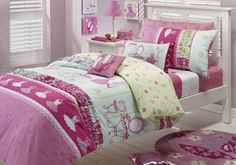 Bedroom: Girls Themed Bedroom Designs Attractive And Unique, girly ...