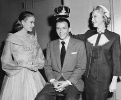 Grace Kelly, Frank Sinatra and Celeste Holm for High Society