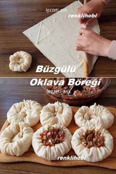 Good Food, Yummy Food, Food Decoration, Pie Dessert, Turkish Recipes, World Recipes, Rolling Pin, Bread Baking, Food To Make