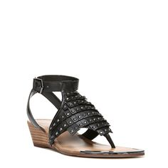 Fergie Women's Balance Fringe Sandals (Black Leather) | Fringe sandals,  Black and Fringes