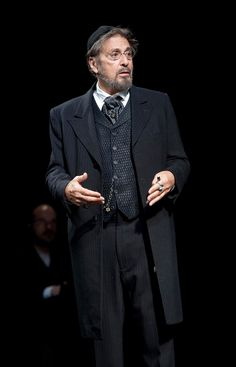 Al Pacino appeared as Shylock in <i>The Merchant of Venice</i> in Al Pacino, Shakespeare Plays, William Shakespeare, New York Theater, Tony Winners, The Merchant Of Venice, Theatre Stage, China Dolls, Movie Costumes