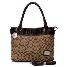 #FallingInLoveWith Coach Logo Monogram Large Coffee Totes BME