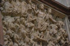 Pisa, battistero, pulpito di Nicola Pisano,  -Il Giudizio universale