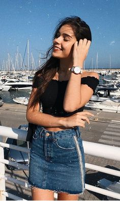 Outfit : 1 2 3 or 4 ? Casual Outfits, Cute Outfits, Fashion Outfits, Espadrilles Outfit, Tumblr Outfits, Outfit Goals, Summer Looks, Boyfriend Jeans, Spring Summer Fashion