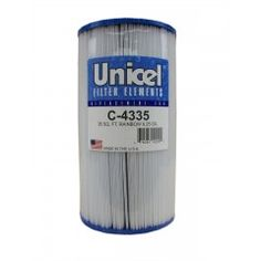 Unicel 4000 Series 35 Square Foot 4 Filter Cartridge for Pool