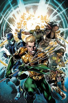 Ivan Reis - Aquaman and The Others