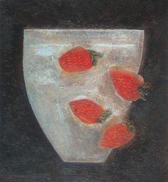 Vivienne Williams Strawberry Bowl, 24cm x 22cm, 2014