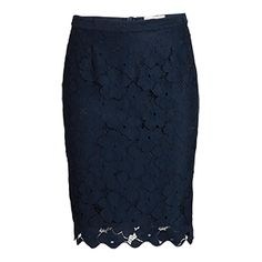 Embroidered Lace Skirt - Lindex