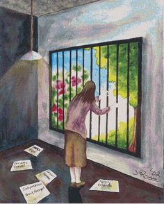 Agoraphobia: You can unlock the self imposed prison that you are in. One step at a time