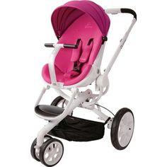 WINGOFFLY Luxury Newborn Baby Pram Infant Foldable Anti-shock High View Stroller Pushchair(Grey)