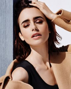 Lily Collins for LaCome