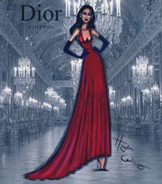 Dior x Rihanna #SecretGarden4 by Hayden Williams