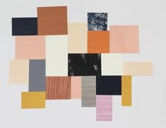 "Saatchi Art Artist Eloise Renouf; Collage, ""Meeting Places"" #art"