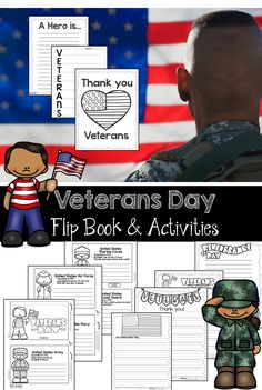 Veterans Day Flip Book and Activities are a great way to teach students the importance of Veterans Day. Students will collect information on the 5 Branches of the Military and record their research in their mini-books. Students will love writing on the Veterans Day Stationary.