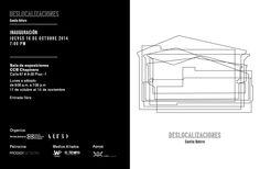 Invitación a la inauguración de 'Deslocalizaciones' de Camila Botero. Jueves 16 de octubre, 7:00 p.m, Cámara de Comercio, sede Chapinero. Beca Cámara de Comercio de Bogotá/artBO en colaboración con Prodigy, El Tiempo y La W.