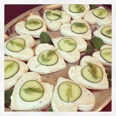 lilly pulitzer tea sandwiches
