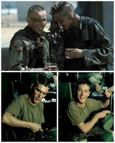 I❤this scene at the end & all the scenes between Tom 'Twombly' & Ewen Bremner 'Nelson' in the All-Star cast filled film 'Black Hawk Down' from Sir Ridley Scott. OMG, the cast in this movie!!! Its astounding how many huge hollywood Mega-Stars were in this film! Many already well-known at the time but also filled with so many of today's Top A-Listers- Genius! Hartnett, Bloom, Sizemore, Bana, McGregor, Piven, Shepard, Fitchner, Coates, Dancy, Coster-Waldau, Burrell & it goes on & on...