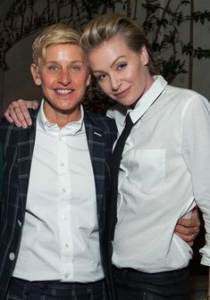 Hollywood Couples Who Have Been Together the Longest Hollywood Couples Who Have Been Together the Longest,Ellen and Portia Degeneres Ellen DeGeneres and Portia de Rossi are too cute! See more celebrity couples who have. Portia De Rossi, Ellen Degeneres And Portia, Ellen And Portia, Ellen Degeneres Divorce, Cute Celebrity Couples, Cute Couples, Power Couples, Sweet Couples, Celebrity Weddings