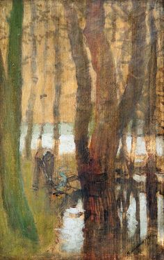 Wood, Composition, Trees, Paintings, Woodwind Instrument, Paint, Timber Wood, Tree Structure, Painting Art