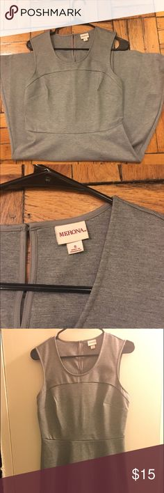 Merona Work Dress A great grey dress perfect for work or a nice dinner! Merona Dresses