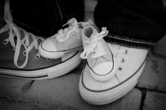 Maternity picture #converse