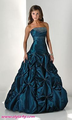 OMG Im in love with this one!! But maybe a little too much for my little hometown prom!