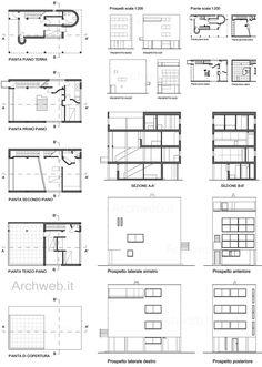 Citröhan house in the neighborhood Weissenhof (1927) | Le Corbusier | Archweb.it