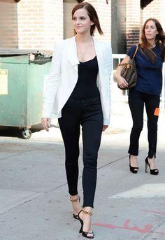 J Brand Scuba Skinny Legging in Odyssey - as seen on Emma Watson