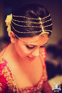 Headpiece Bridal Jewellery Designs | Polki, Kundan, Gold and Diamond | Wedmegood