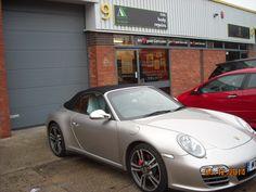 Porsche 911 - Front bumper repair