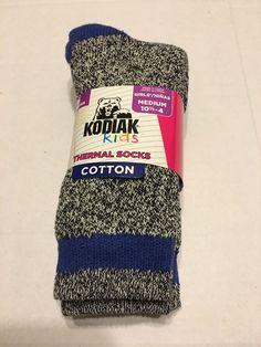 Socks Shoes Size Medium 10 5 4 Thermal Cotton Black Mix Royal   eBay