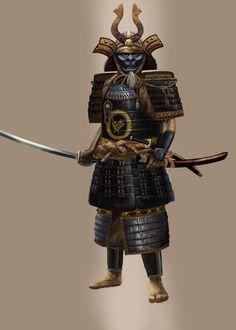 Samurai by Skaya3000.deviantart.com on @deviantART