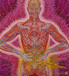 Back Demon - Alex Grey - www.alexgrey.com