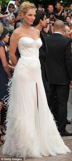 Uma Thurman in Dolce & Gabbana