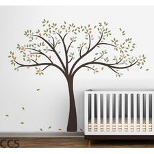Fall Tree Wall Decal-I'd want something more spring looking