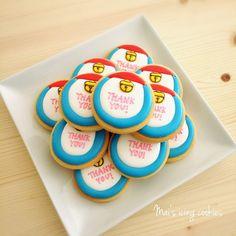 ご卒園おめでとうございます❤卒園式で先生方へお渡しするお礼のギフトにオーダー頂きました☺ お遊戯会で踊ったドラえもんモチーフアイシングクッキー✨ 【Thank-you gift cookies】 #アイシングクッキー#マイズ#icingcookies#decorationcookies #decorationcookies #birthdaycookie #birthday#birthdaygift#ドラえもん#仙台#静岡