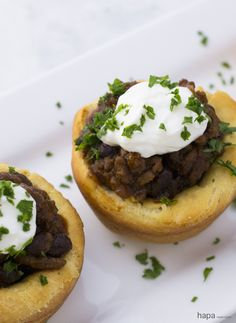 These spicy Chili Cups are perfect for parties, sporting events, or just an evening at home. So delicious, I never have leftovers!