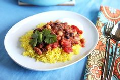 Recipe: Mixed Bean Masala with Fragrant Yellow Rice — Recipes From The Kitchn