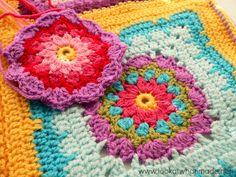 Block 43:  Sadie Square Photo Tutorial block a week cal 2014  Photo http://www.lookatwhatimade.net/crafts/yarn/crochet/block-a-week-cal-2014/block-43-sadie-square-photo-tutorial/